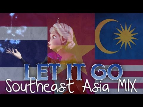 Let It Go (Southeast Asia MIX) with lyrics
