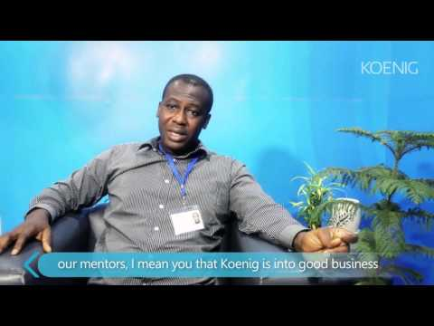 David King Boison from Ghana attended Dynamics AX 2012 R3 training