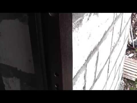 Стальная дверь. Лист 3 мм.