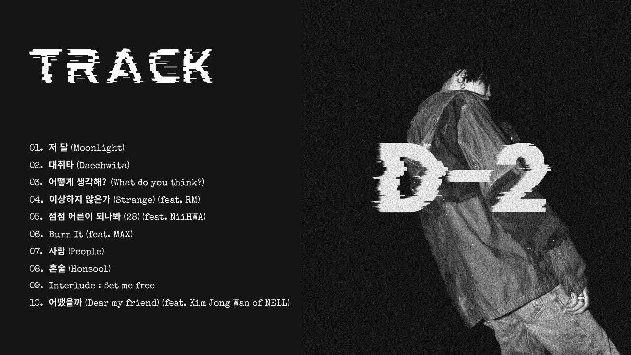 Download [FULL MIXTAPE] Agust D - D-2