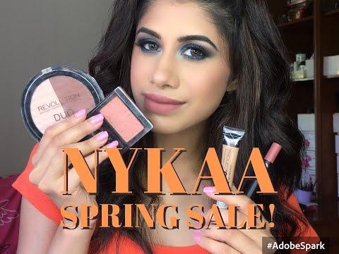Full face of FIRST IMPRESSIONS | Nykaa Spring Sale haul | Malvika Sitlani