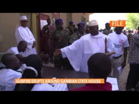 Gambian soldiers attempt coup