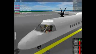 FLIGHT SIMULATOR (roblox) Bombardier Q400