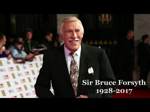 Sir Bruce Forsyth: Legendary TV host & entertainer dies aged 89