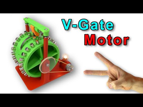 🌑 V Gate ВЕЧНЫЙ ДВИГАТЕЛЬ на 3D принтере  Anycubic I3 Mega Free Energy magnet motor Игорь Белецкий