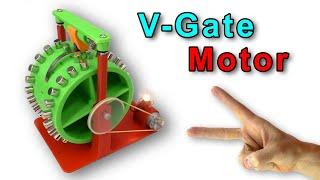 V Gate ВЕЧНЫЙ ДВИГАТЕЛЬ на 3D принтере Anycubic I3 Mega Free Energy magnet motor Игорь Белецкий