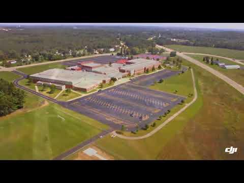 Waupaca high school new football field