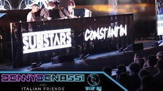 Constantin e Sunstars LIVE @ Benny Benassi & Italian Friends 2014 - THE TOP DJ DOCUFlLM pt.6