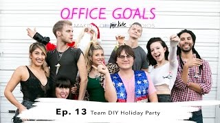 Team DIY Holiday Party | Office Goals