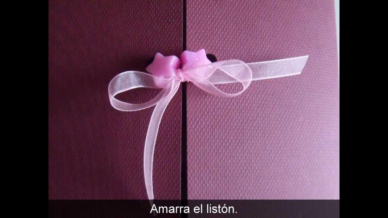 Invitacion De 15 Años Rosa Con Estrellas