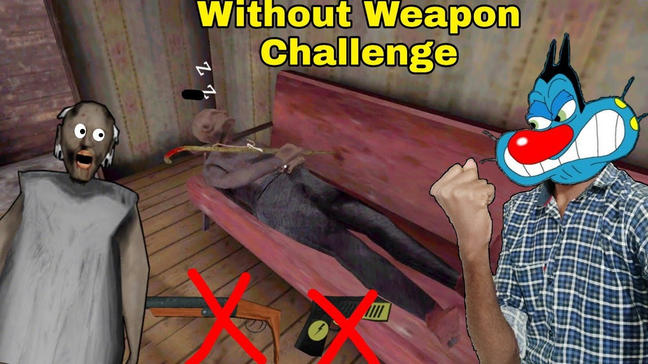 Without Weapon Challenge 🤯 In Granny Chapter Two With Oggy and Jack
