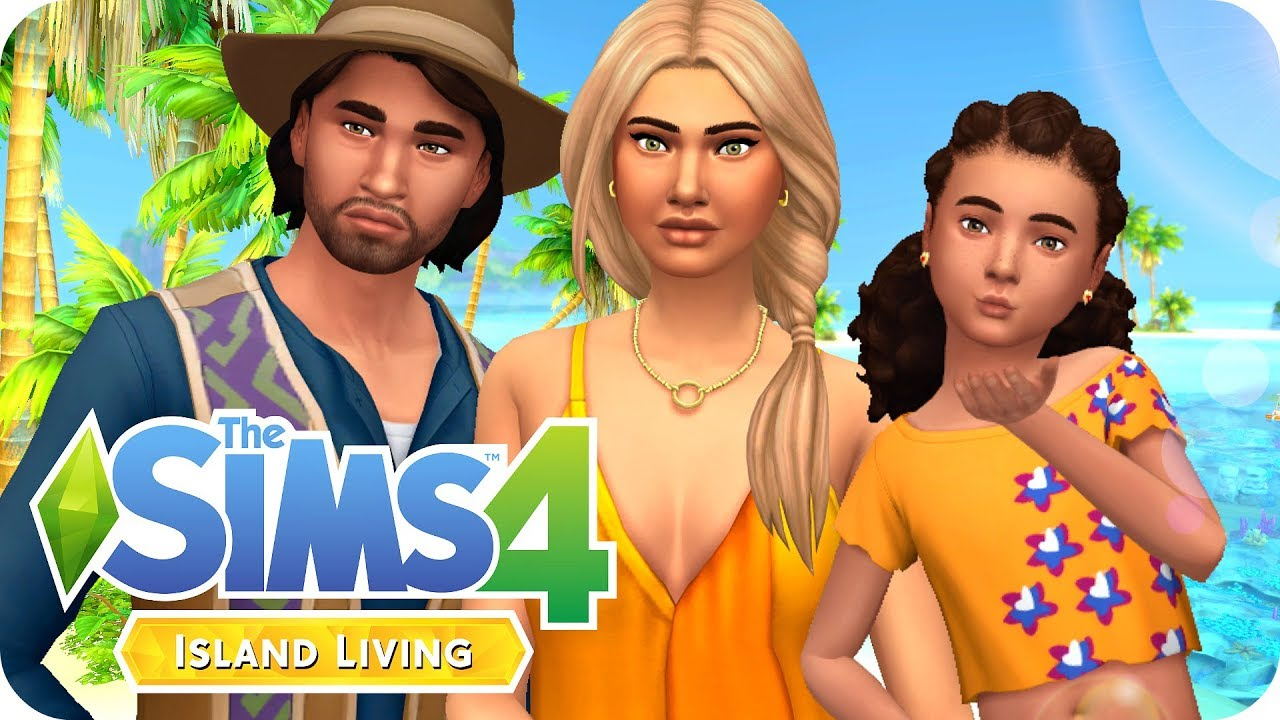 CREATING NEW TOWNIES FOR SULANI | Sims 4 Island Living Create A Sim  #SulaniSirens