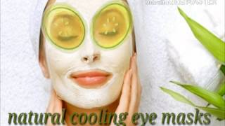 natural cooling eye masks for summers..