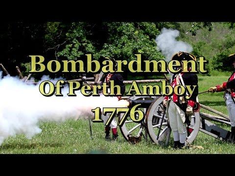The Bombardment of Perth Amboy 1776