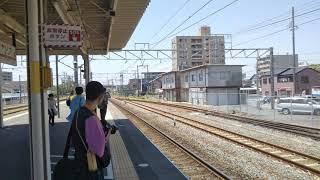 【遅くなってすみません❗️】「約12年ぶり⁉️」臨時列車『ミナミマグロ満喫号』焼津駅到着‼️