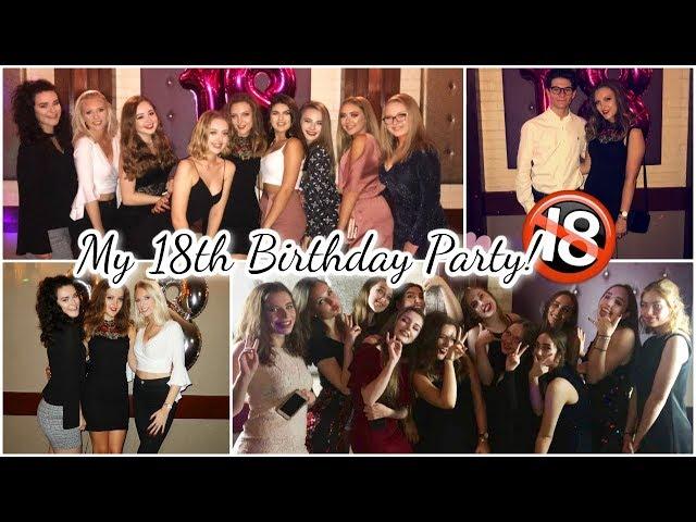 MY 18TH BIRTHDAY PARTY!! (My FAVOURITE Vlog!) || BeautySpectrum