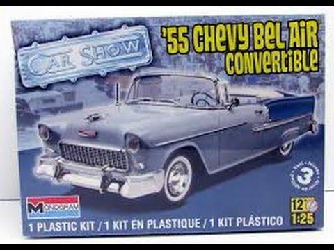 1955 Chevy Bel-Air Convertible Model Kit - Part 1
