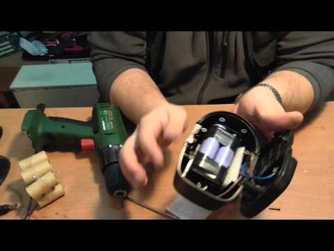 Результат использования литиевых аккумуляторов 18650 в шуруповёрте.