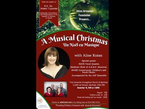 Hay Horizon TV interview on upcoming concert with Aline Kutan