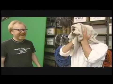 Mythbusters Sobering Up Techniques