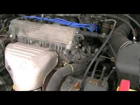 hqdefault 2000 toyota camry bad spark plug wires youtube 2001 Toyota Camry Le at bakdesigns.co