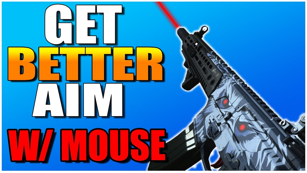 How To Get Better AIM on PC (CoD Modern Warfare Warzone Gameplay)