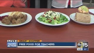 Free food for IKEA for teachers