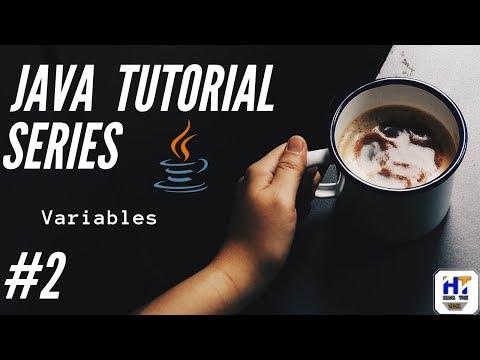 Java Programming Tutorial - 2    Variables in Java     Java tutorial for beginners thumbnail
