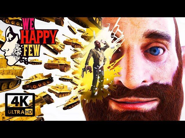 We Happy Few: Ollie's Story All Cutscenes (Game Movie) 4K UHD 60FPS