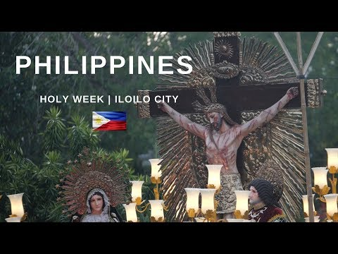 PHILIPPINES - Foreigners Explore Holy Week Procession At Molo Church, Iloilo