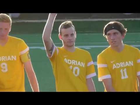 Adrian College Men's Soccer 2017