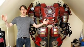 XRobots - Iron Man Hulkbuster Cosplay Part 34, Arm Mechatronics with Arduino