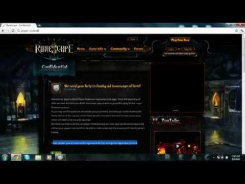Runescape COMMENTARY- Hacking A Serious Problem- FAKE SITES/HOW TO PREVENT ECT..