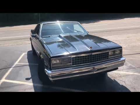 1983 Chevy El Camino  DUAL EXHAUST V8 W/ Straight Pipes!!