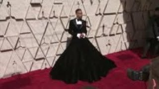 Celebs including Billy Porter, Ryan Seacrest and Brian Tyree Henry arrive at the Oscars