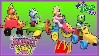 Opening MUPPET BABIES Happy Meal Toys from 1990!   Bin's Toy Bin
