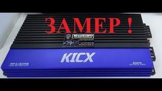 Завмер підсилювача KICX AP4.120 від MuzKING