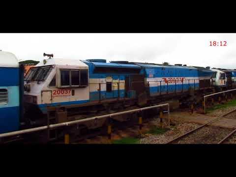Bangalore Hubli Intercity Express Journey 2 - Indian Railways