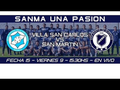 Fecha 15: Villa San Carlos vs San Martín de Burzaco - EN VIVO