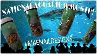 ❥Aquarium Nails! | MAENAILDESIGNS
