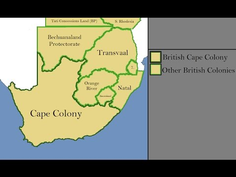 The Evolution of South Africa