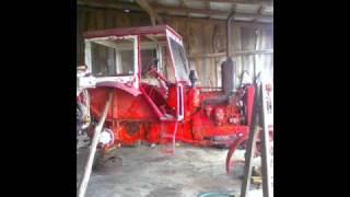 Renowacja ciągnika.