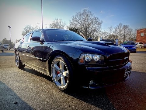 2007 DODGE CHARGER SRT8 Black SRT