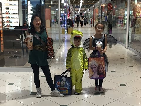 4hrs of Halloween Trick or Treating at Pacific Mall & Neighborhood streets Markham