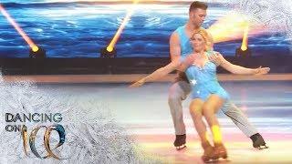 Aleksandra Bechtel zeigt spektakuläre Schrittfolgen und tolle Hebung | Dancing on Ice | SAT.1