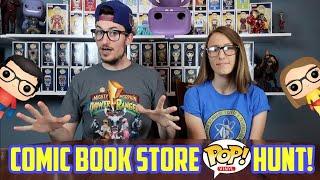 COMICBOOK STORE POP HUNT! (400+ Pops)