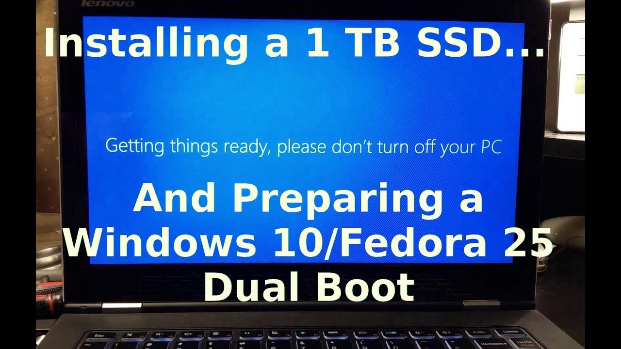 SSD Upgrade and Windows 10 Install on Lenovo Yoga 2 Pro
