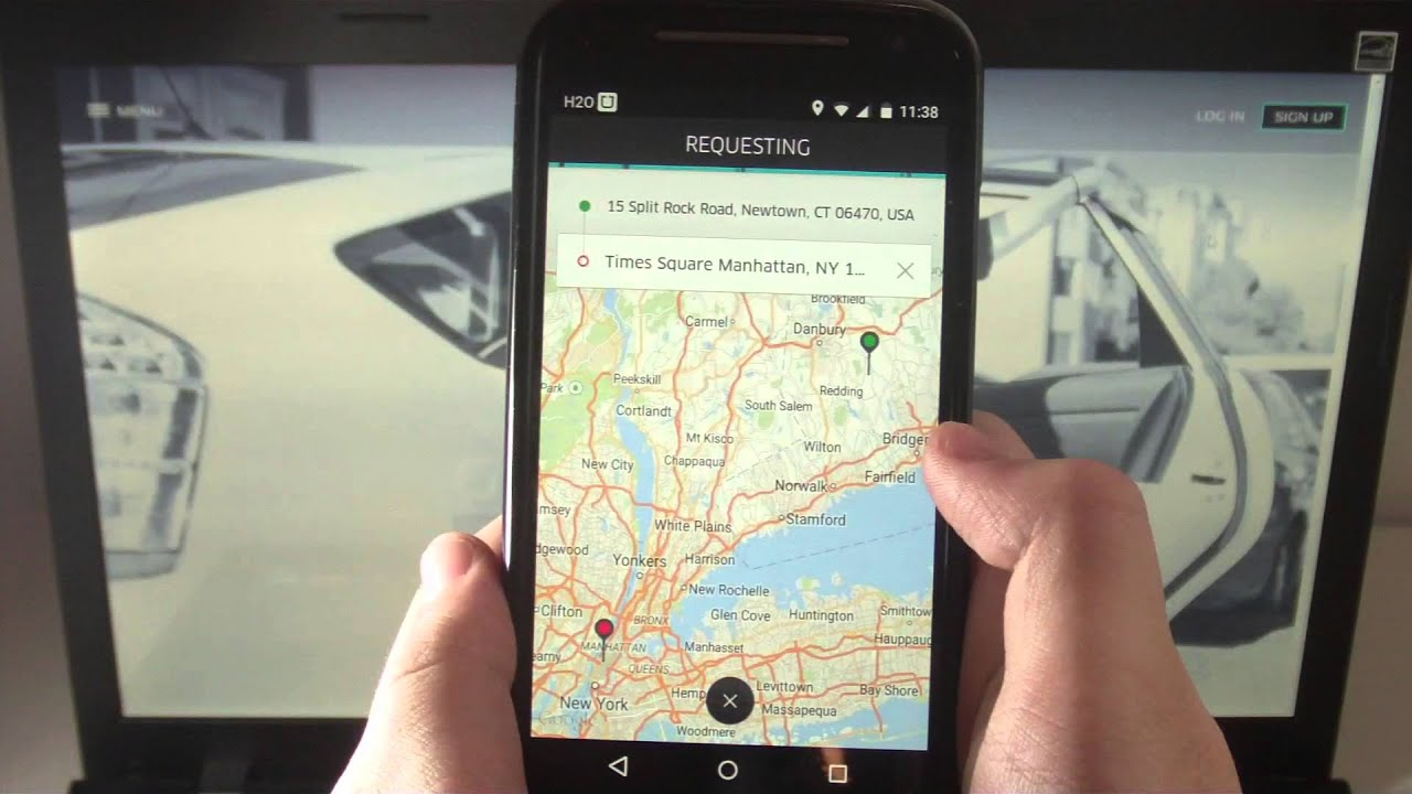 Uber Review - Get a ride with a push of a button!
