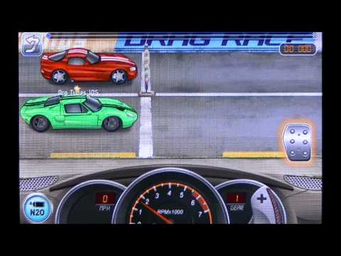 Drag Racing TUNE 21 000 Ford GT level 6 Career mode 1 mile - Video