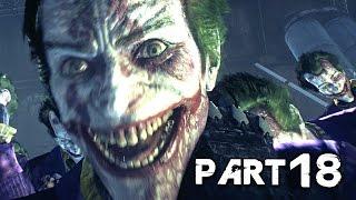Batman Arkham Knight Walkthrough Gameplay Part 18 - The Killing Joke (PS4)